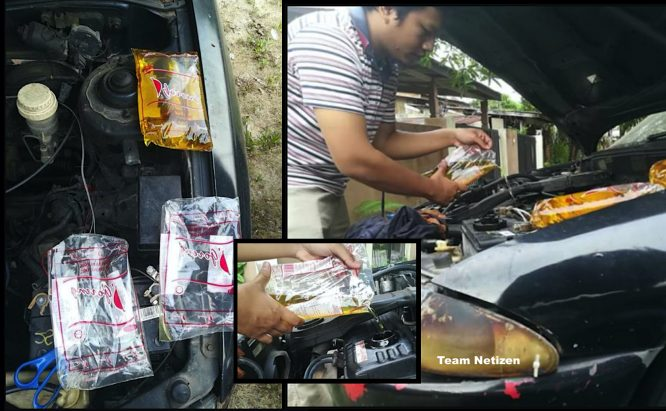 arenagempak.com - Lelaki Pakai Minyak Masak Untuk Minyak Enjin Kereta, Kereta Tiada Masalah 2 Tahun